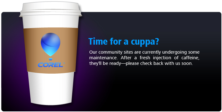 Our community sites are currently undergoing scheduled maintenance. Please check back with us soon.